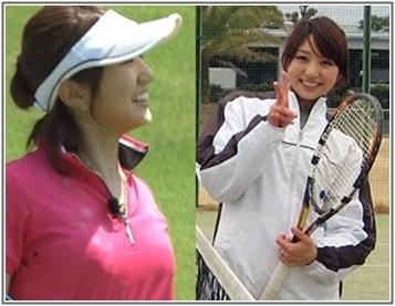 松村未央テニス